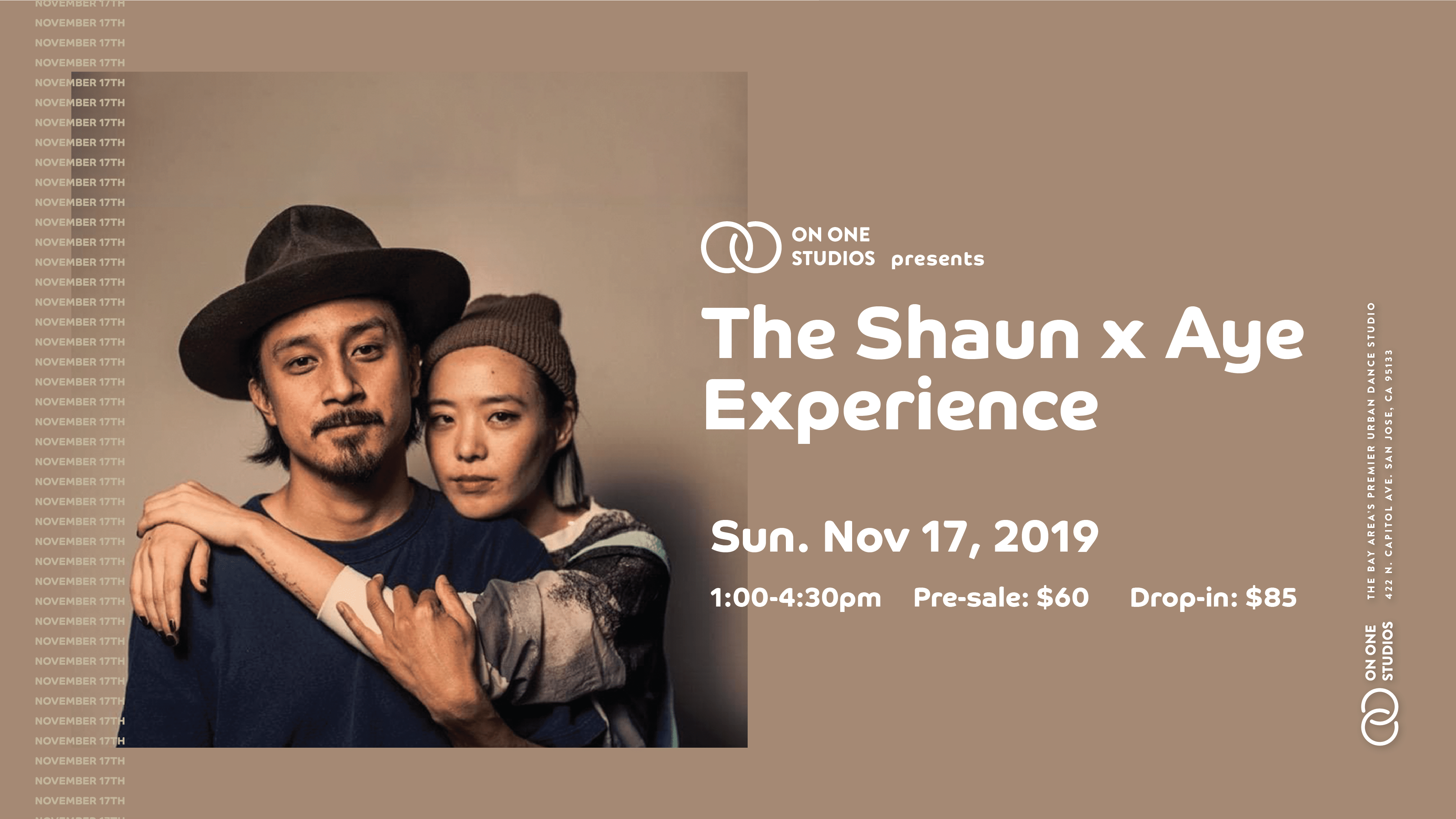 , On One Studios Presents: The Shaun x Aye Experience
